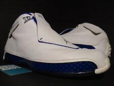 2003 NIKE AIR JORDAN XVIII 18 WHITE SILVER SPORT ROYAL BLUE OG 305869-101 14