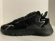 Adidas Nite Jogger 3M J Trainers Men's Shoes Core Black EE6489