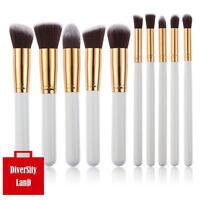 Makeup 10Pcs Professional Cosmetic Makeup Brushes Set Eyeshadow Brush Kit