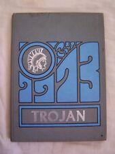 1973 Homer High School Yearbook Homer, Michigan Trojan