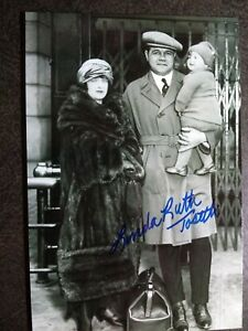 LINDA RUTH TOSETTI Hand Signed Autograph 4X6 Photo - BABE RUTH GRANDDAUGHTER
