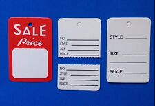 300 pcs variety Price sale tag Coupon Tag Clothing Price Tagging gun hang Label