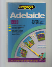 1999 Gregory's ADELAIDE Street Directory - 47th edition