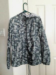 Columbia Flash Forward women's windbreaker jacket hooded  Printed Pond Camo L
