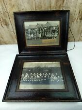 More details for 2 x butlins 1947 opening season pwllheli photos framed signed by william butlin