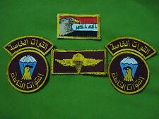 IRAQ/Iraqi Army Airborne Jump Special Forces Uniform Patches Set.القوات الخاصة