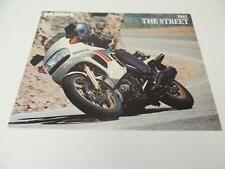 NOS 1982 The Street V45 Magna Nighthawk 450 Honda Dealer Brochure L73