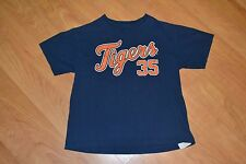 Detroit Tigers Justin Verlander Jersey T Shirt Kids Youth Large MLB