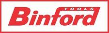 "Binford red sticker decal sign 5""x1.5"""