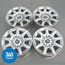 "GENUINE BENTLEY 19"" MULLINER CONTINENTAL GT GTC SPUR CGT 2 PIECE ALLOY WHEELS"
