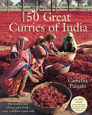50 Great Curries of India + DVD, Camellia Panjabi, New, Book