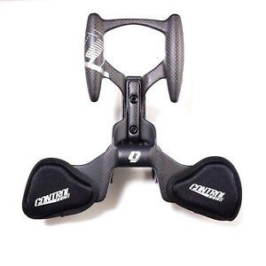 Controltech Triathlon Aero Cockpit Plus Carbon Bicycle Arm Rest TT Handlebar
