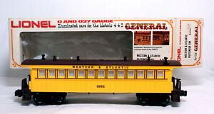 Lionel 6-9552 General Illuminated Western & Atlantic Passenger Car ~ O/O27