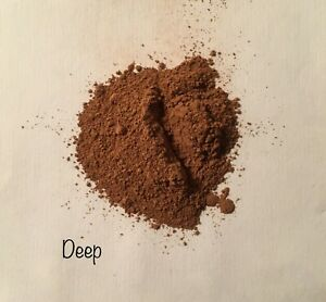 DEEP Loose Mineral Makeup Foundation Handcrafted USA Limited Ingredients 30g jar
