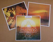 Cafe Mambo Ibiza Sunsets UK vinyl 2-LP Incognito Timmy Thomas David Bowie