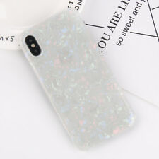 For iPhone XS MAX XR X 8 Luxury Marble Shockproof Silicone Protective Case Cover