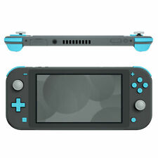 Soft Touch Heaven Blue Replacement Dpad & Face Buttons for Nintendo Switch Lite