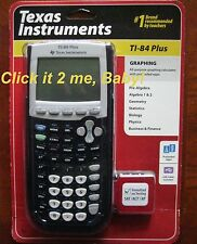 Brand New Factory SEALED Texas Instruments Ti-84 Plus Graphing Calculator NO Tax