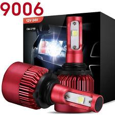 2017 Cree LED Headlight Kit 9006 HB4 9012 400W 6000K 40000LM Bulbs Pair HID