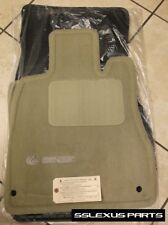 Lexus LS430 (2001-2003) 4pc OEM Genuine CARPET FLOOR MATS (Ivory) PT208-50010-10