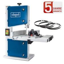 Scheppach Bandsäge HBS30 Ausziehbarer Tisch bis 520mm inkl. 3 Sägeblätter Holz