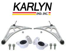 Front Lower Control Arm & Bushing Assembly Kit Lt & Rt Karlyn BMW E46 M3 01-06