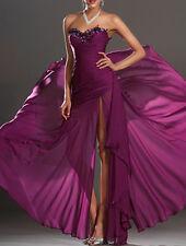 Abito da sera vestito donna lungo damigella cerimonia party festa ballo o stola