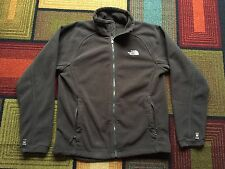 Mens The North Face Sz Medium M Brown Full Zip Fleece Jacket Long Sleeve Khumbu