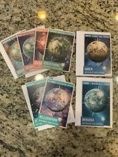 Firefly Serenity Loot Crate Interplanetary Flash Card Set #1, #2 Miranda & Haven