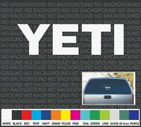 YETI  Boat Cooler Car Truck Window Decal Sticker Laptop 9""