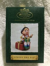 Hallmark Curius The Elf 2002 Collector'S Club Christmas Keepsake Ornaments
