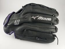 Mizuno GPP 1257D5 RG Left Hand Throw Glove 12.5 Inch BLACK AND PURPLE