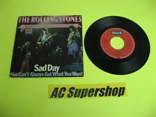The Rolling Stones sad day / you can't always get what you want 45 Record Vinyl