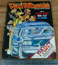 1979 VAN WHEELS No 6. Panel VAN.Holden Gemini.FORD Escort.MINI.Kombi.Paint