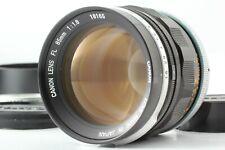 Rare! [NEAR MINT w/ Hood] Canon FL 85mm f1.8 MF Portrait Lens From JAPAN