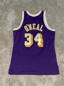 Shaquille Oneal Mitchell and Ness Hardwood Classics Size Large