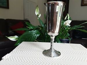 Vintage VALERO Spain Silver Plated Spanish Goblets Water Wine Glasses Grapes