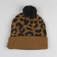 Leopard Beanie Hats for Women