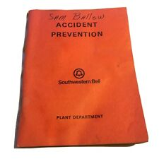 1971 Southwestern Telephone Accident Privation Book Plant Department AT&T