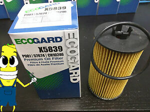 Premium Oil Filter for Chevrolet Sonic w/ 1.4L & 1.8L Engine 2012-2015 Single