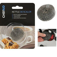 Chef-Aid Kettle Descaler Clean Metal Mesh Stainless Steel Furring Removing Ball