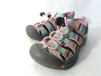 KEEN CHILD 10M Pink Rainbow Washable Waterproof Sports Sandals Shoes