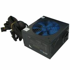 Artic 750W Black ATX Gaming PC 6+2Pin PCIe PSU Power Supply 120mm Blue
