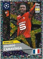 TOPPS UEFA CHAMPIONS LEAGUE 2020/21 EDUARDO CAMAVINGA FOIL STICKER NO RS12