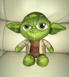 Official Collectable Disney Star Wars Jedi Master Yoda Beanie Soft Toy