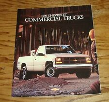 Original 1996 Chevrolet Commercial Truck Sales Brochure 96 Chevy Pickup Van
