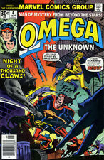 OMEGA THE UNKNOWN # 4 VF/NM 1976 Gerber Mooney MARVEL COMICS *ShipFree w/$35 Ord