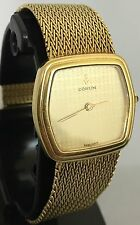 authentic Excellent Mens corum 18k solid yellow gold  watch.