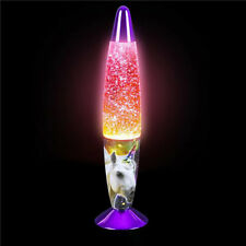 MYSTICAL UNICORN LAVA LAMP kids children room table bed night light girls decor