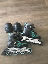 5th Element Stella Plus Womens Inline Skates Size 8 And K2 Performance Pads